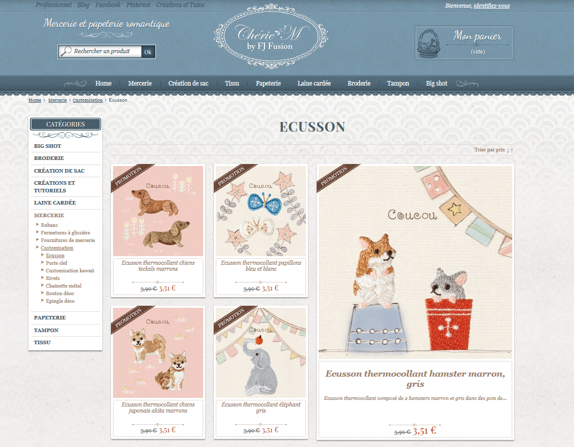 Le nouveau site de Chérie M est en ligne !